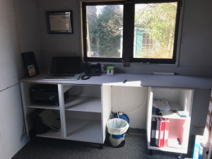 Welcome to our new Office / Workshop